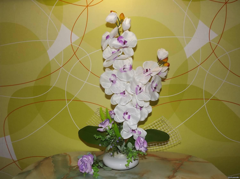 Букет из орхидей: как самостоятельно составить цветочную 26